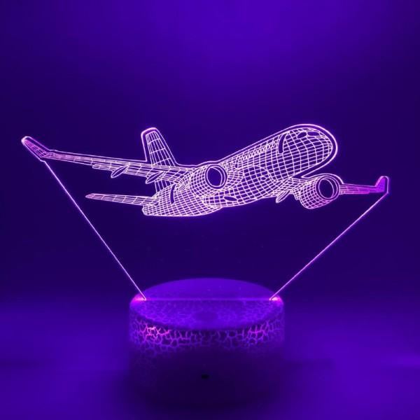 3D Nightlight Plane With Winglets