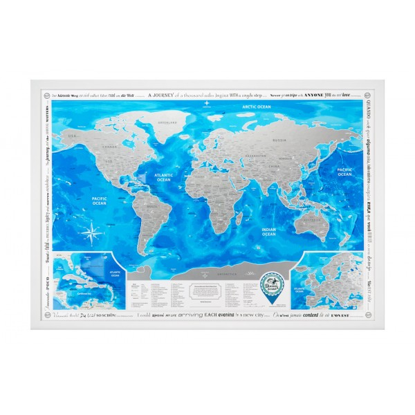 Scratch Map World
