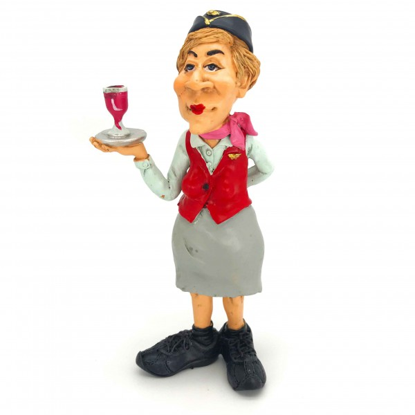 Statuette Air Hostess Woman