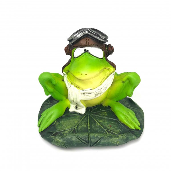 Statuette Frog Pilot