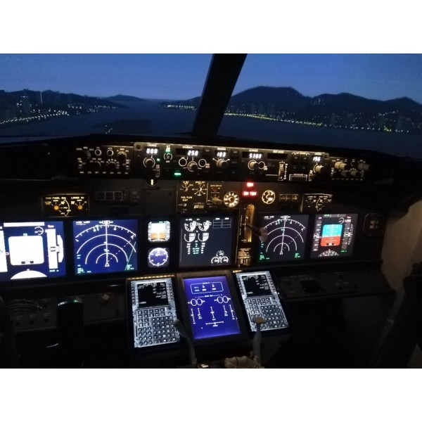 Flight Simulator Boeing 737 Gift Card