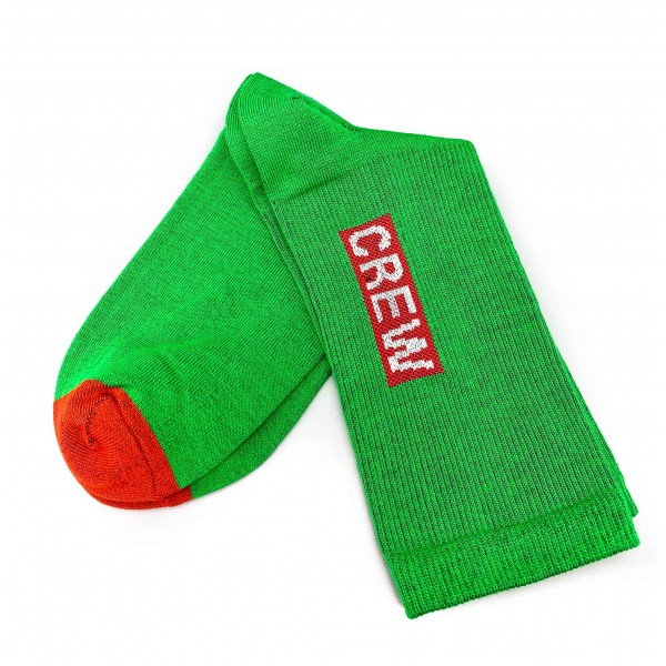 Aviation Socks CREW green