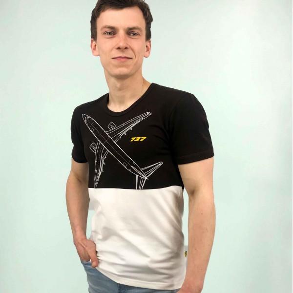 T-Shirt Boeing 737 Male