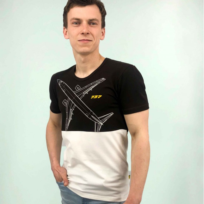T-Shirt Boeing 737 Male