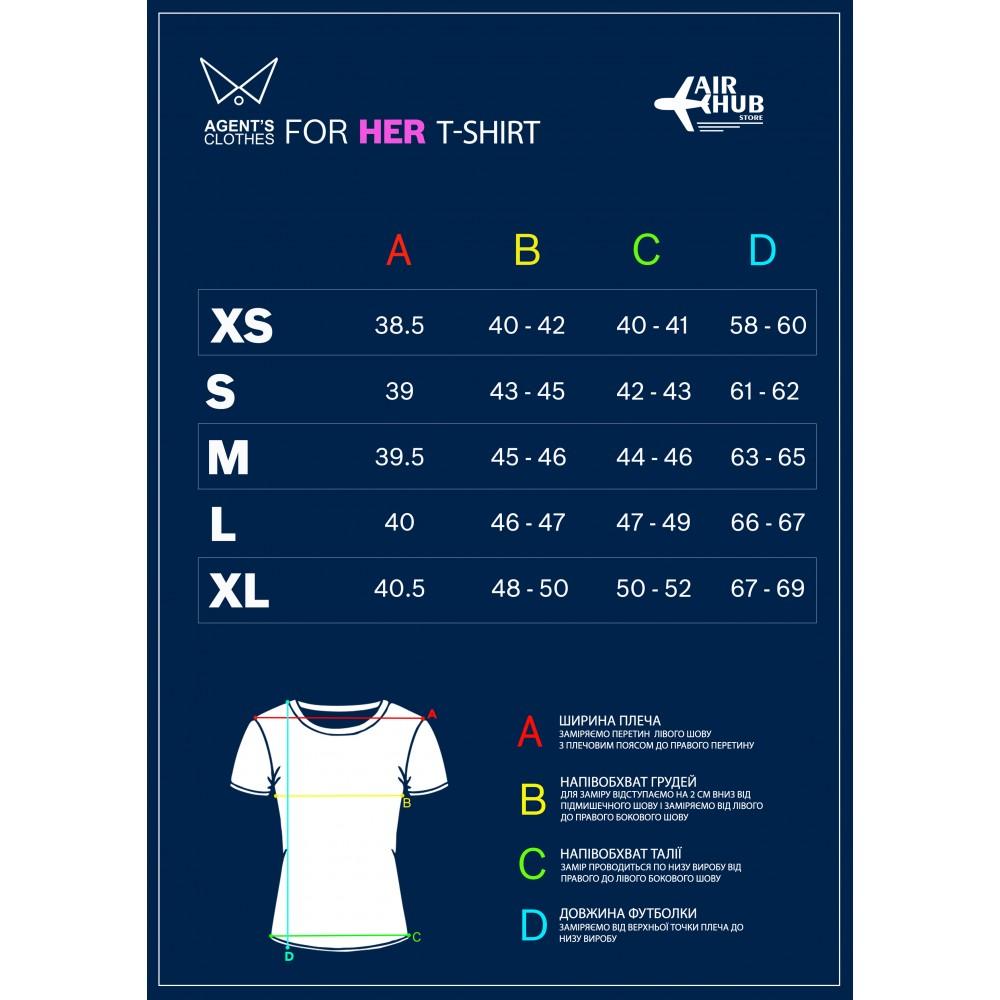 """T-Shirt AN-124 """"Ruslan"""" Female"""