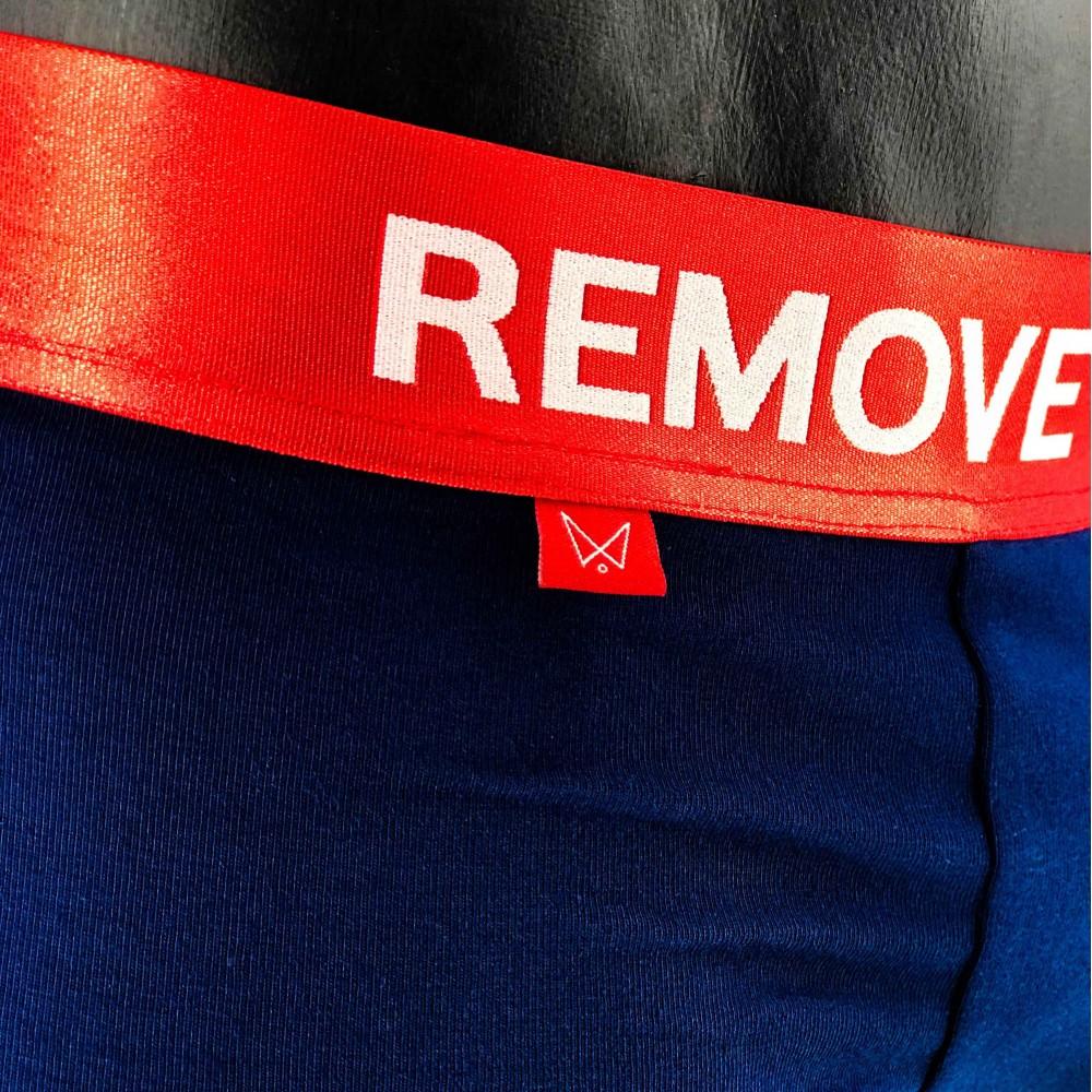 "Underwear ""Remove Before Sex"" Blue"