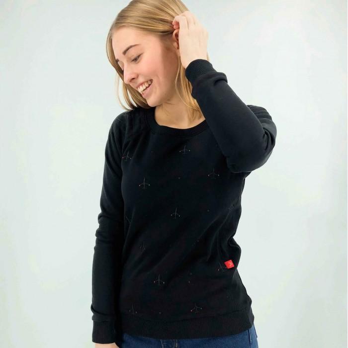 "Sweatshirt ""Black Edition"" Female"