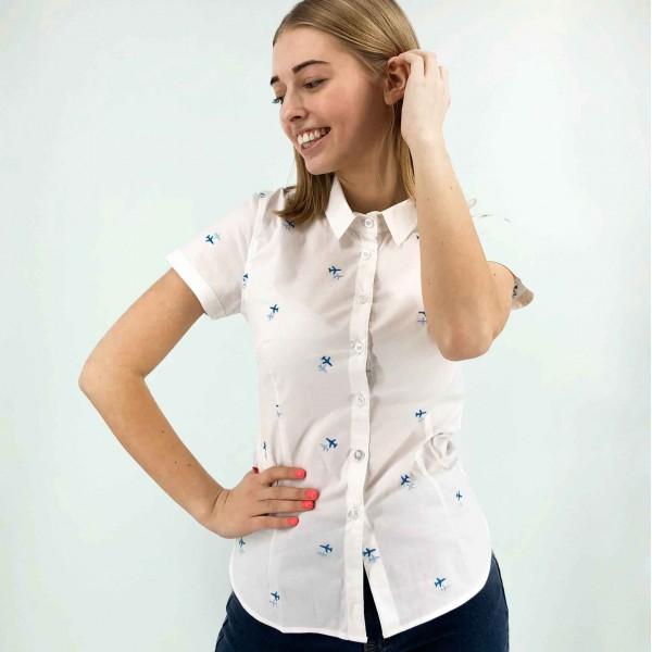 Short Sleeve Shirt Female