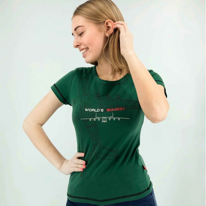 """T-Shirt AN-225 """"Mriya"""" Female"""