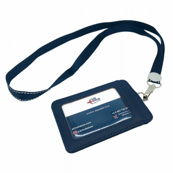 Badge Case Blue