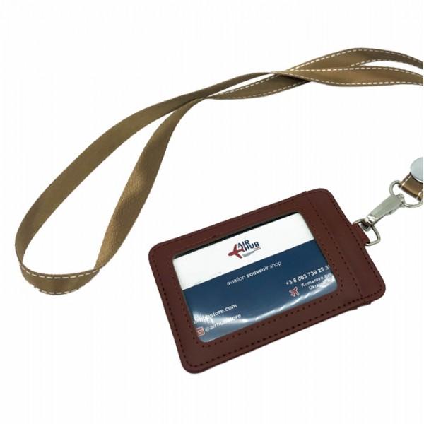 Badge Case Ocher