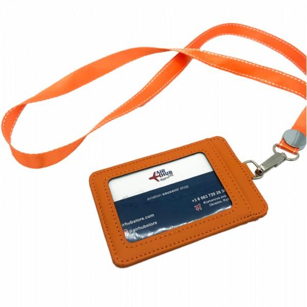 Badge Case Orange