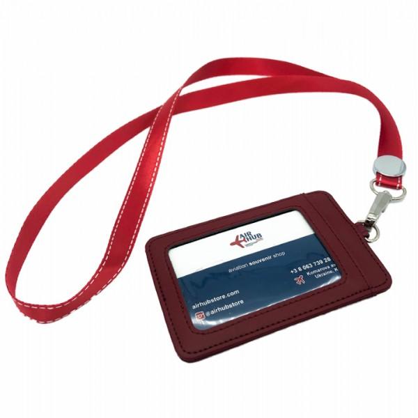Badge Case Red