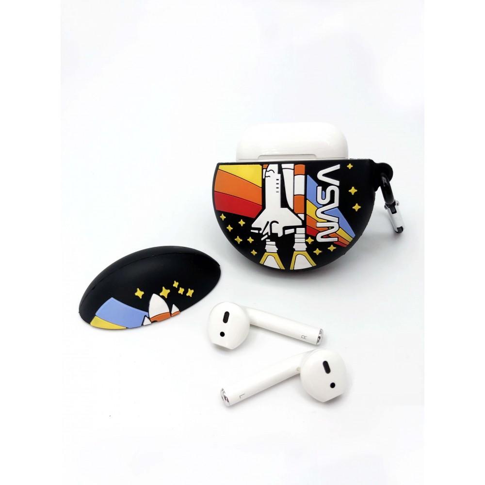 NASA Headphone Case Black