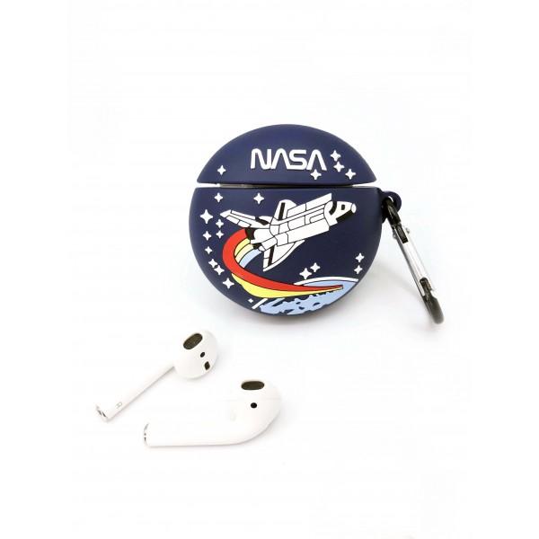 NASA Headphone Case Blue