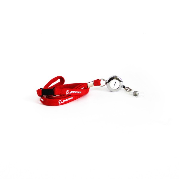 Lanyard Boeing Red
