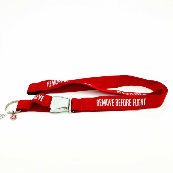 Lanyard Remove Before Flight Lift Red
