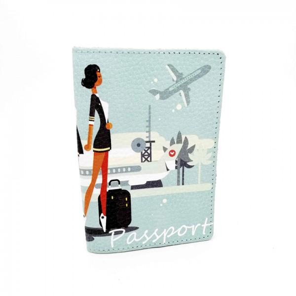 Passport Cover Stewardess