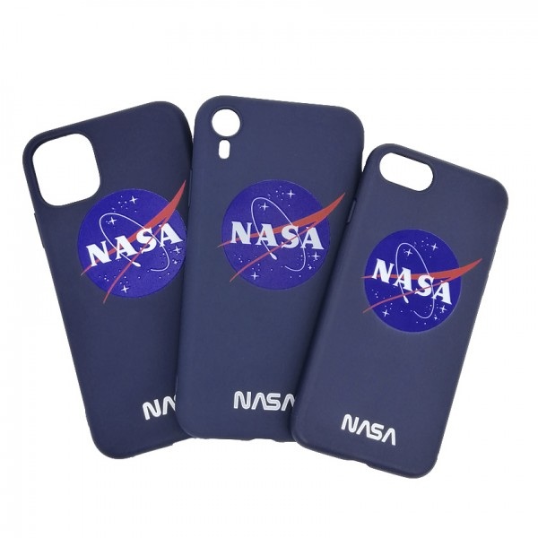 iPhone case NASA Blue
