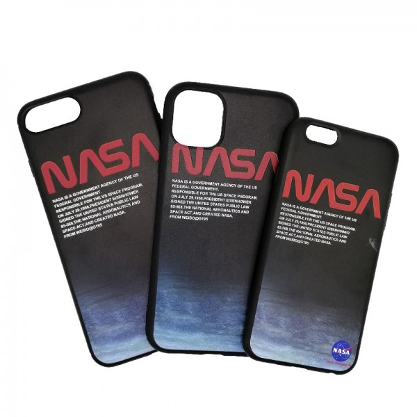 iPhone case NASA Dark