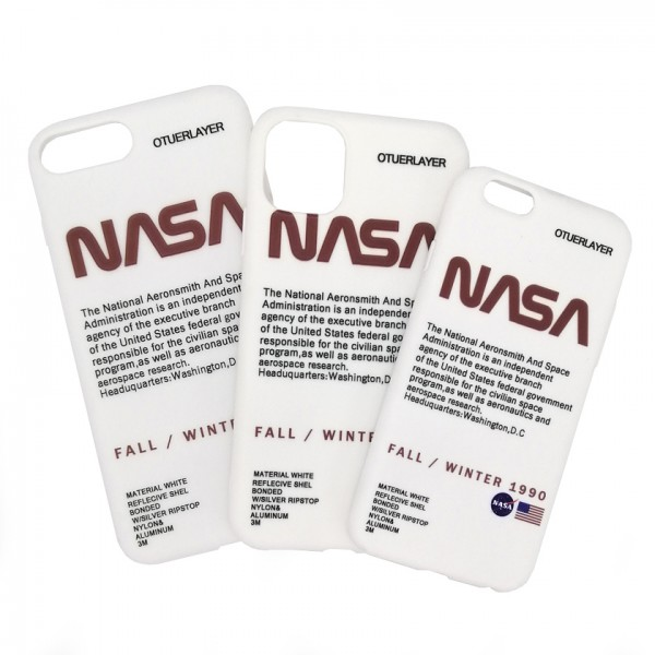 iPhone case NASA White