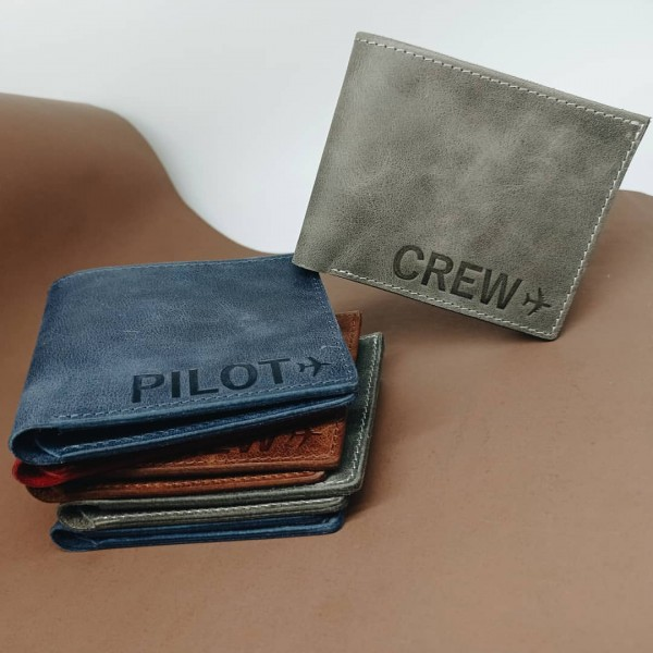 Wallet Airplane Pilot / Crew