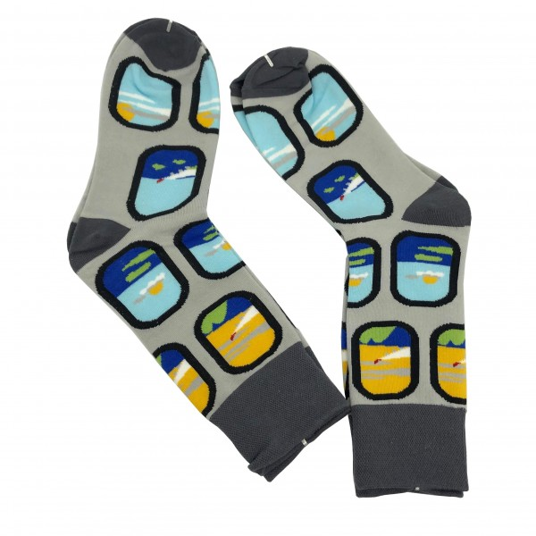 Aviation Socks Airplane Window