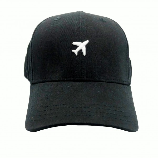 Cap Airplane Black
