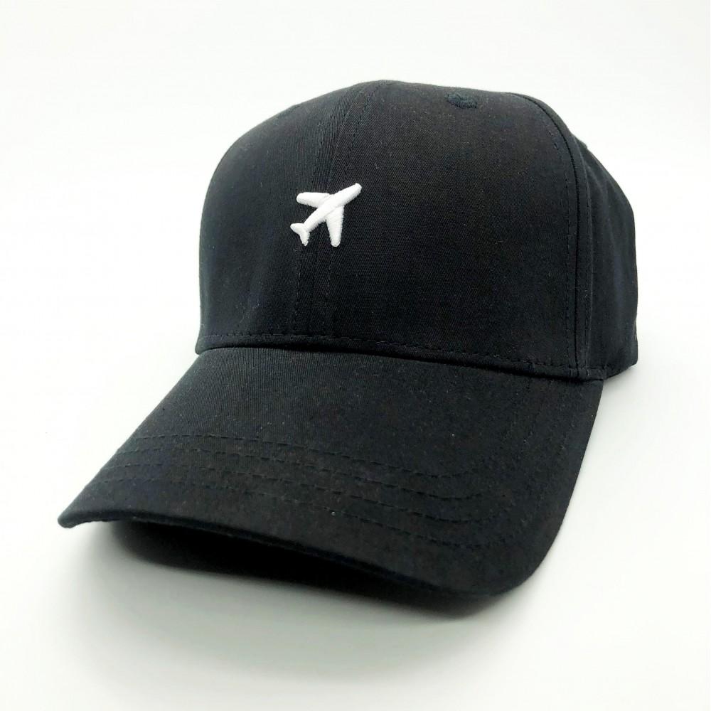 Cap Airplane Black