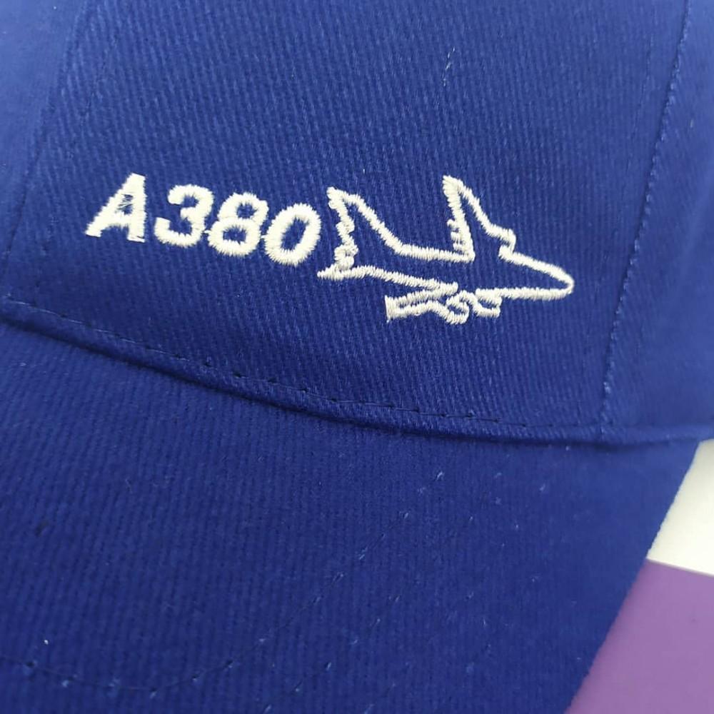 Cap Airbus A380 Blue