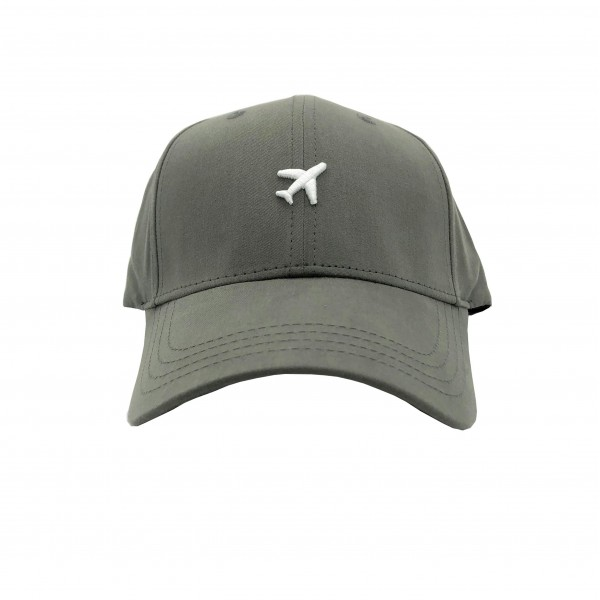 Cap Airplane Gray