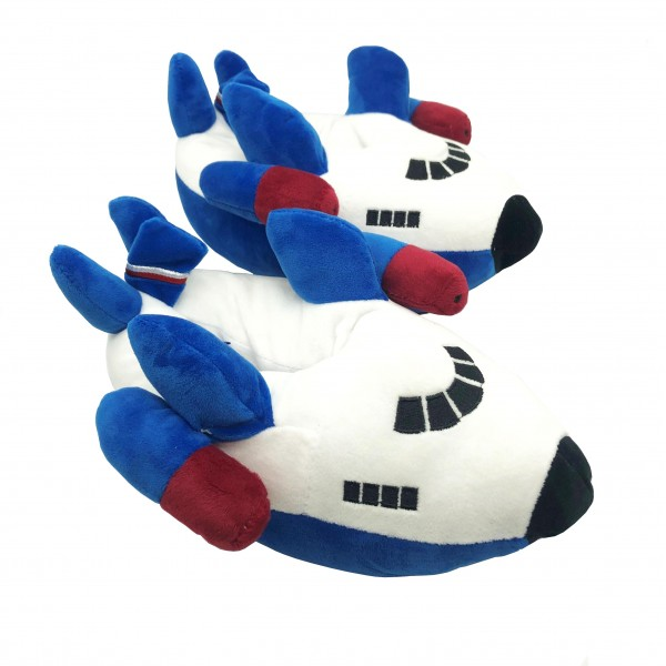 Slippers Airplane For Kids Blue
