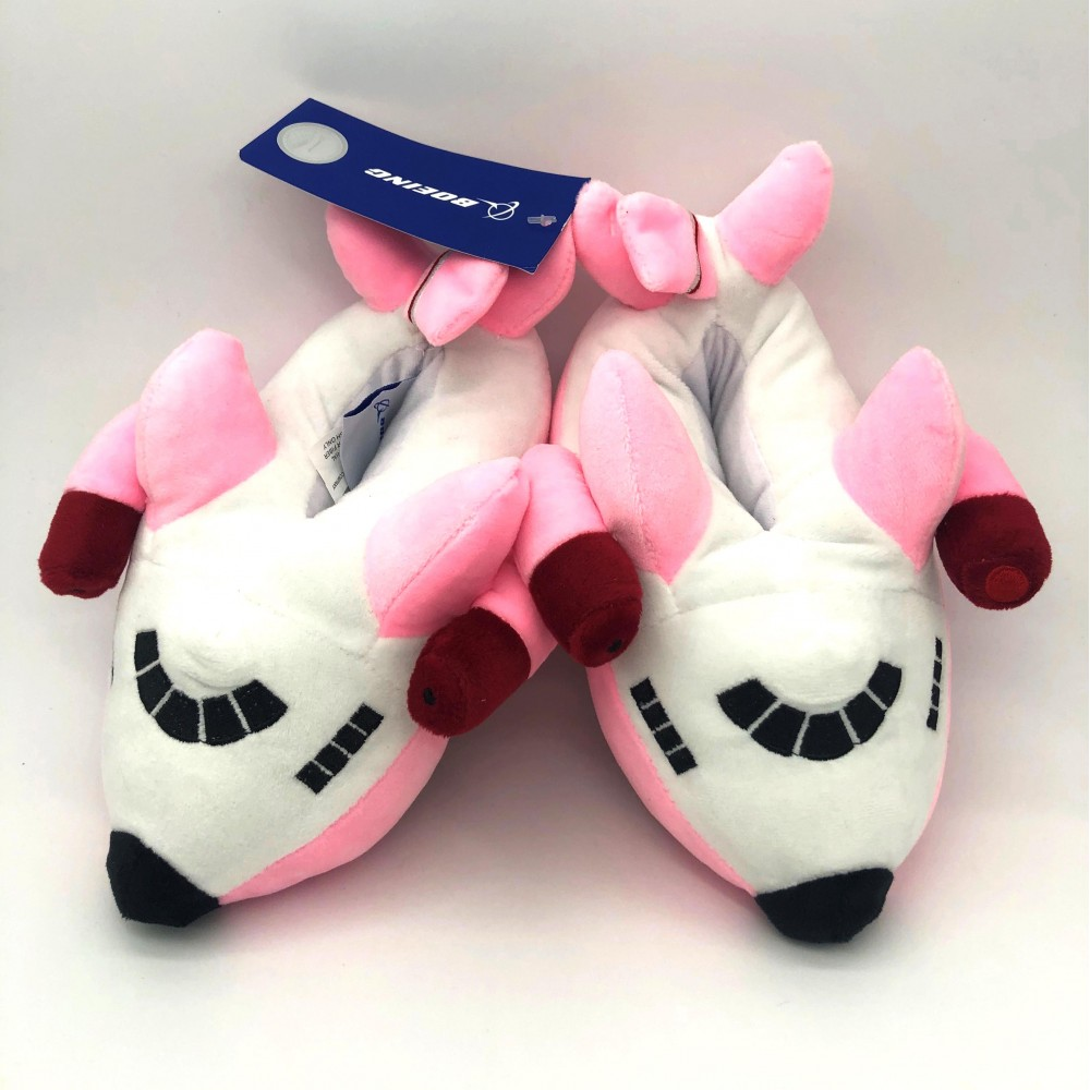 Slippers Airplane For Kids Pink