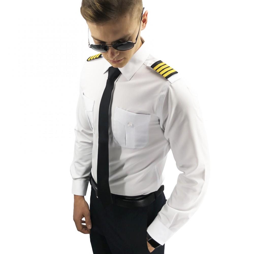 Men's Long Sleeve Pilot Shirt A Cut Above