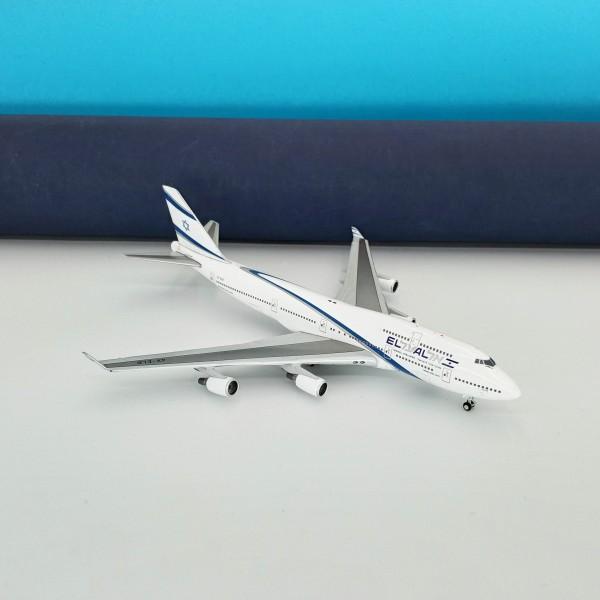 Boeing 747- 400 El Al Israel Airlines Farewell Flight 1:400