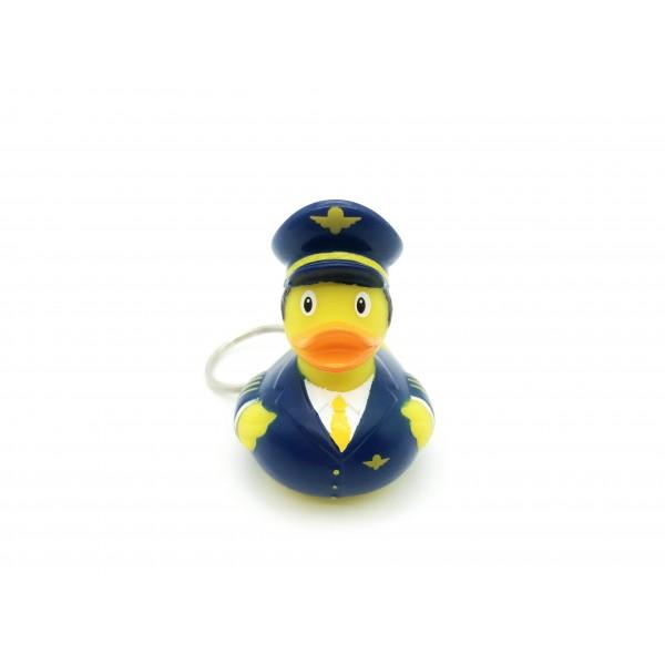 Keychain Pilot Duck