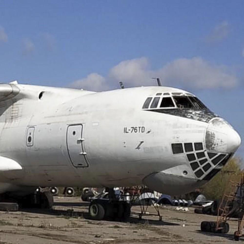 Keychain Aviation tag IL-76