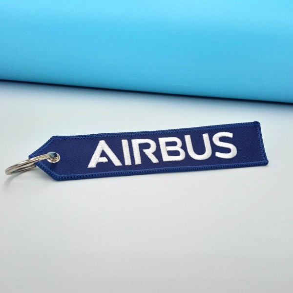 Keychain Airbus We Make It Flight Blue