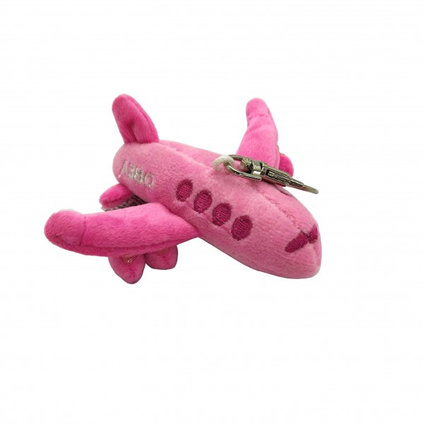 Keychain Toy Airbus A380 Pink