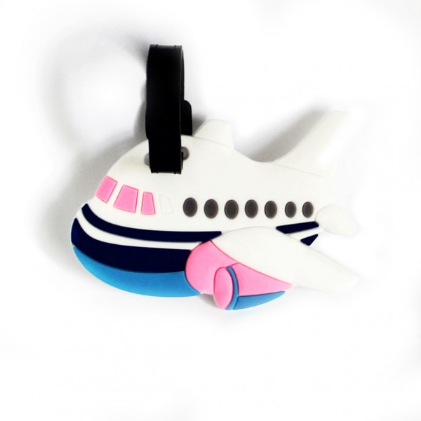 Luggage Tag Color Airplane