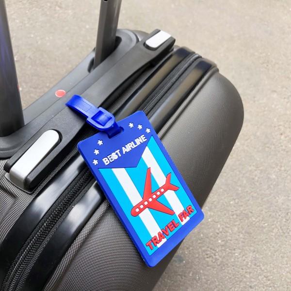 Luggage Tag Travel Far