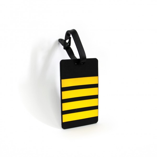 Luggage Tag Pilot 4 Bars