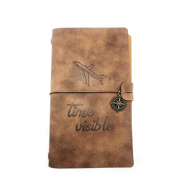 """Notebook """"Time Visible"""" Brown"""