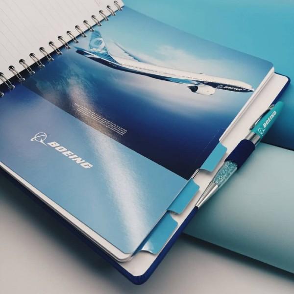 Planner Boeing Blue