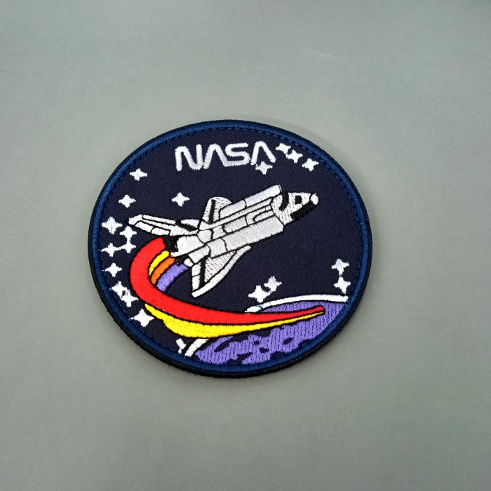 Patch NASA Shuttle Blue