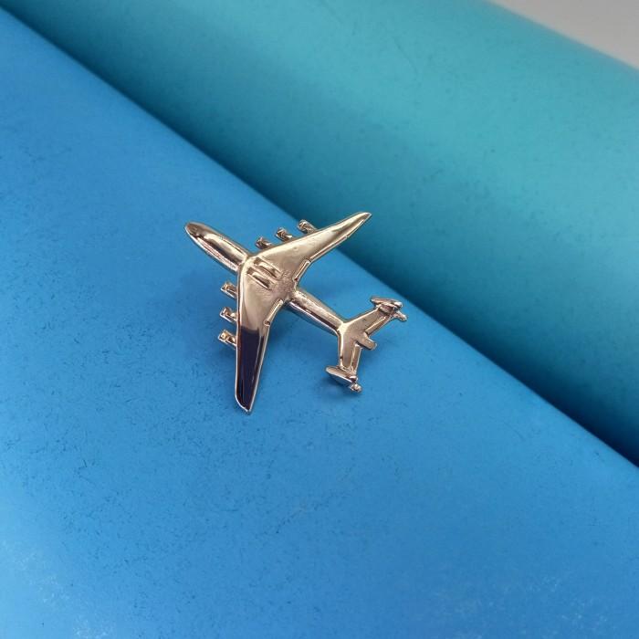 Pin AN-225 Silver Plane