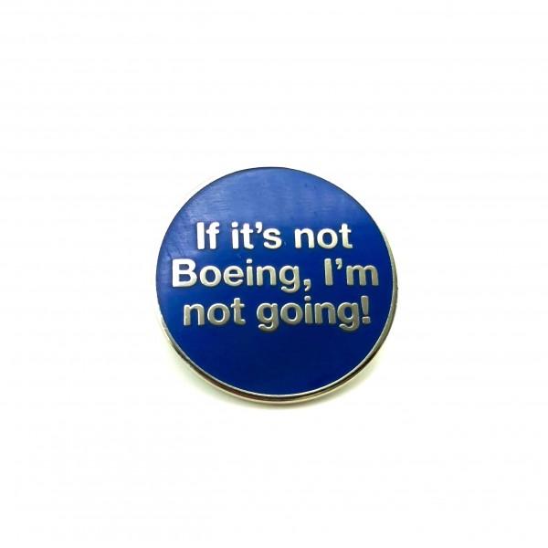 Pin Boeing Blue