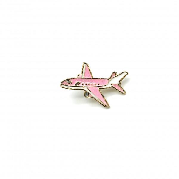Pin Pink Plane