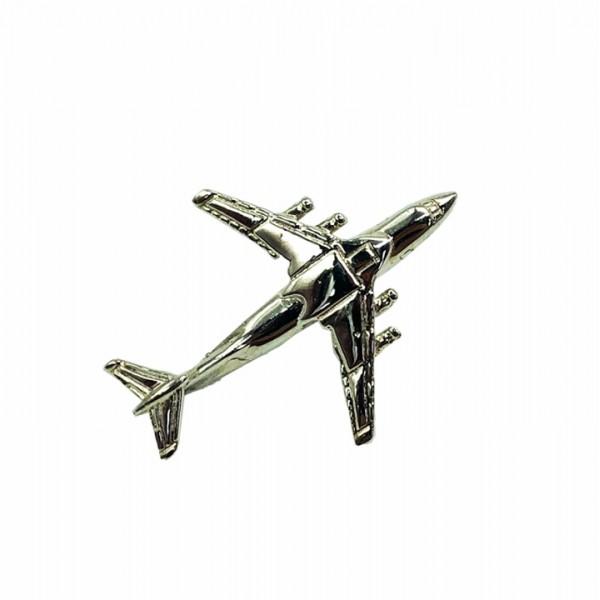 Pin IL-76 Silver Plane
