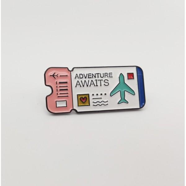 Pin Ticket Pink